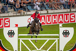 Devos Pieter (BEL) - Dream of India Greenfield <br /> Mercedes-benz Nationenpreis<br /> Weltfest des Pferdesports CHIO Aachen 2014<br /> © Hippo Foto - Dirk Caremans