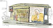 Catfish Corner restaurant in Seattle's Central District.<br /> Gabriel Campanario / The Seattle Times