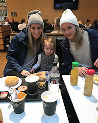 """Estavana Polman releases a photo on Instagram with the following caption: """"On our way to storhamar\ud83c\uddf3\ud83c\uddf4 #EHFcup #jesslynngaatnietmeediegaatnaarnlmetpapa #helaas"""". Photo Credit: Instagram *** No USA Distribution *** For Editorial Use Only *** Not to be Published in Books or Photo Books ***  Please note: Fees charged by the agency are for the agency's services only, and do not, nor are they intended to, convey to the user any ownership of Copyright or License in the material. The agency does not claim any ownership including but not limited to Copyright or License in the attached material. By publishing this material you expressly agree to indemnify and to hold the agency and its directors, shareholders and employees harmless from any loss, claims, damages, demands, expenses (including legal fees), or any causes of action or allegation against the agency arising out of or connected in any way with publication of the material."""