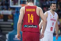 Spain Jonathan Barreiro during European Qualifiers to China 2019 World Cup match between Spain and Montenegro at Principe Felipe Stadium in Zaragoza , Spain. February 22, 2018. (ALTERPHOTOS/Borja B.Hojas)