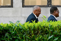 Bill Cosby arrives at Montgomery County Court House, in Morristown, Pennsylvania, on June 13, 2017 as a twelve person jury deliberates for the second day in on three counts of aggregated indecent assault case against the comedian.