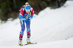Margarita Vasileva (RUS) during Women 15km Individual at day 5 of IBU Biathlon World Cup 2018/19 Pokljuka, on December 6, 2018 in Rudno polje, Pokljuka, Pokljuka, Slovenia. Photo by Ziga Zupan / Sportida