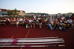 Spectators at 23rd International Meeting Brezice 2008, on September 10, 2008, Brezice, Slovenia.   (Photo by Vid Ponikvar / Sportal Images).