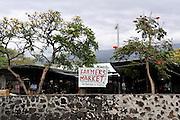 Weekly Farmers' Market, Kailua-Kona, Big Island, Hawaii