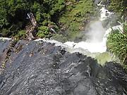 Iguassu (Iguazu) Falls, Argentina and Brazil border, South America