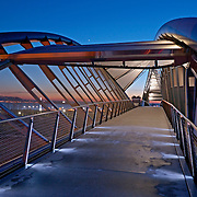 """""""DNA"""" bridge in the Interbay area of Seattle"""