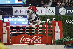 Deusser Daniel, (GER), Cornet D Amour<br /> Final<br /> Furusiyya FEI Nations Cup Jumping Final - Barcelona 2015<br /> © Dirk Caremans<br /> 26/09/15