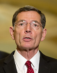 June 27, 2017 - Washington, District of Columbia, United States of America - United States Senator John Barrasso (Republican of Wyoming) speaks to reporters following the Republican Party luncheon in the United States Capitol in Washington, DC on Tuesday, June 27, 2017..Credit: Ron Sachs / CNP (Credit Image: © Ron Sachs/CNP via ZUMA Wire)