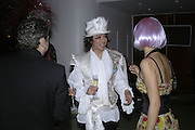 Andy Wong, Andy and Patti Wong's Chinese New Year of the Pig party. Madame Tussauds. ( Dress Burlesque, Debauched or Hollywood Black Tie. ) London. 27 January 2007.  -DO NOT ARCHIVE-© Copyright Photograph by Dafydd Jones. 248 Clapham Rd. London SW9 0PZ. Tel 0207 820 0771. www.dafjones.com.