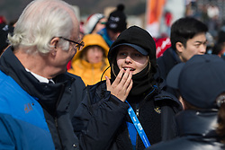 February 18, 2018 - Pyeongchang, SOUTH KOREA - 180218 H.M Carl XVI Gustaf, King of Sweden, and Jennie-Lee Burmansson during the Men's Slopestyle Finale during day nine of the 2018 Winter Olympics on February 18, 2018 in Pyeongchang..Photo: Petter Arvidson / BILDBYRÃ…N / kod PA / 91979 (Credit Image: © Petter Arvidson/Bildbyran via ZUMA Press)