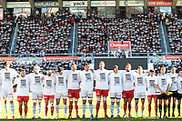 Equipe Toulon - Hommage Charlie Hebdo - 10.01.2015 - Toulon / Racing Metro - 16e journee Top 14<br />Photo : Jc Magnenet / Icon Sport
