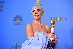 January 6, 2019 - Los Angeles, California, U.S. - Lady Gaga in the Press Room during the 76th Annual Golden Globe Awards at The Beverly Hilton Hotel. (Credit Image: © Kevin Sullivan via ZUMA Wire)