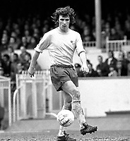Fotball<br /> England<br /> Foto: Colorsport/Digitalsport<br /> NORWAY ONLY<br /> <br /> Kevin Hector - Derby County. Arsenal v Derby County 31/3/73.