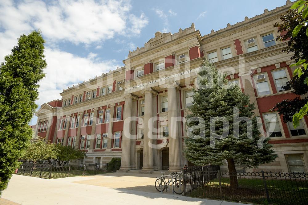 Lincoln Park High School in Chicago on Thursday, Sept. 3, 2020. Photo by Mark Black