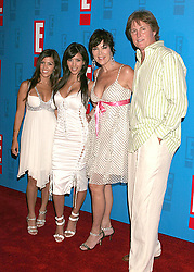 Aug 01, 2005; Los Angeles, CA, USA; Sports Personality/Actor BRUCE JENNER wife and daughters KOURTNEY and KIMBERLY at the 'E Entertainment TV Summer Splash Event' held at the Tropicana Bar in the Roosevelt Hotel..  (Credit Image: Paul Fenton/ZUMAPRESS.com)
