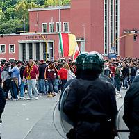 Finale Coppa Italia, Ultras Roma