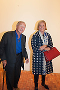 SIR TERENCE AND LADY CONRAN, VIP opening  of the new Serpentine Sackler Gallery designed by Zaha Hadid . Kensinton Gdns. London. 25 September 2013