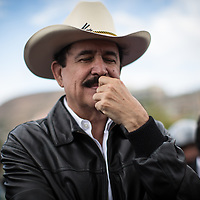 A pensative Mel Zelaya, who was ousted from the presidency and removed from the country in a coup in 2009.