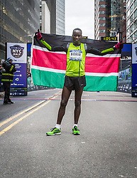 winner Leonard Korir, Kenya