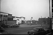 Auto Cars Station, Harcourt Street, Dublin.<br /> 23.01.1963