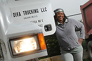 Trucker Pat Sterling is the owner/operator of Diva Trucking LLC, an Illinois-based, single truck company that receives hauling contracts in and around the Greater Chicago area.