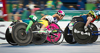 20160912 Copyright onEdition 2016©<br /> Free for editorial use image, please credit: onEdition<br /> <br /> Track Athlete, Jade Jones, 1500m T54 - Women, from Middlesborough, competing for ParalympicsGB at the Rio Paralympic Games 2016.<br />  <br /> ParalympicsGB is the name for the Great Britain and Northern Ireland Paralympic Team that competes at the summer and winter Paralympic Games. The Team is selected and managed by the British Paralympic Association, in conjunction with the national governing bodies, and is made up of the best sportsmen and women who compete in the 22 summer and 4 winter sports on the Paralympic Programme.<br /> <br /> For additional Images please visit: http://www.w-w-i.com/paralympicsgb_2016/<br /> <br /> For more information please contact the press office via press@paralympics.org.uk or on +44 (0) 7717 587 055<br /> <br /> If you require a higher resolution image or you have any other onEdition photographic enquiries, please contact onEdition on 0845 900 2 900 or email info@onEdition.com<br /> This image is copyright onEdition 2016©.<br /> <br /> This image has been supplied by onEdition and must be credited onEdition. The author is asserting his full Moral rights in relation to the publication of this image. Rights for onward transmission of any image or file is not granted or implied. Changing or deleting Copyright information is illegal as specified in the Copyright, Design and Patents Act 1988. If you are in any way unsure of your right to publish this image please contact onEdition on 0845 900 2 900 or email info@onEdition.com