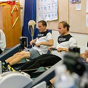 Prtéapration physique de l'équipage GC 32 GDF SUEZ à L'école nationale de Voile de Quiberon