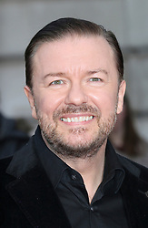 © Licensed to London News Pictures. 24/03/2014, UK. Ricky Gervais, Muppets Most Wanted - VIP screening, Curzon Mayfair, London UK, 24 March 2014. Photo credit : Richard Goldschmidt/Piqtured/LNP