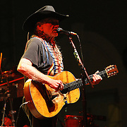 """Country-music icon Willie Nelson kicked off his 2014 U.S. tour by performing outdoors to thousands of fans at Silver Springs State Park's Twin Oaks Amphitheatre on Saturday, February 1, 2014, in Ocala, Florida. Nelson reportedly joined other scheduled acts and backed out of a scheduled performance at SeaWorld Orlando after negative publicity over the documentary film """"Blackfish"""".  (AP Photo/Alex Menendez)"""