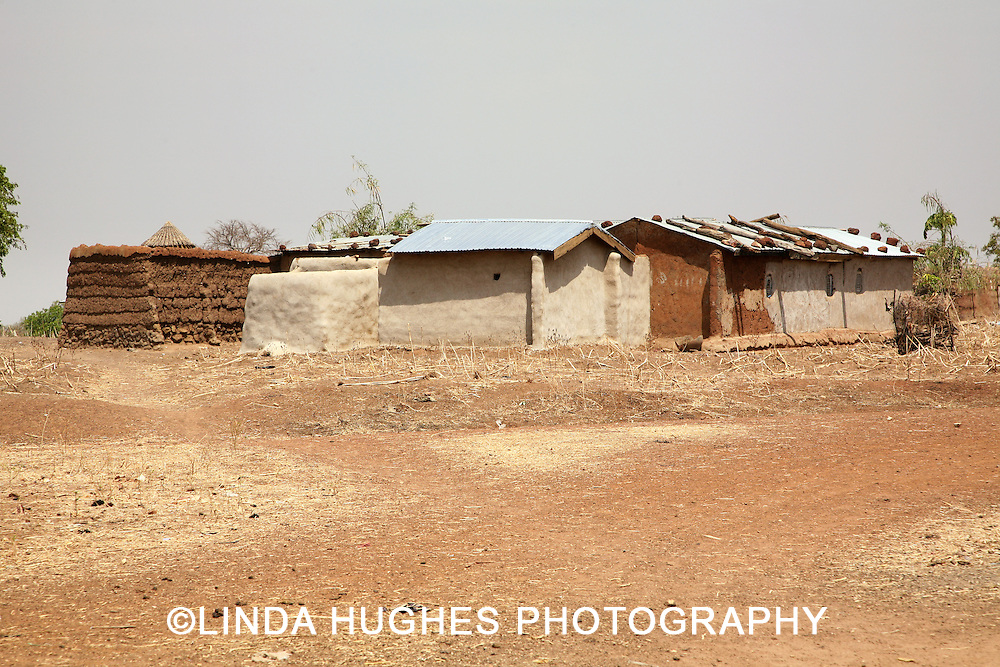 Remote Village in Upper West Region of Ghana