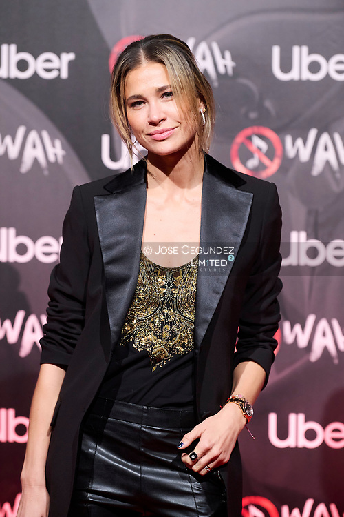 Carla Pereyra attends 'Wah' Musical Show World Premiere Red Carpet at IFEMA on October 7, 2021 in Madrid, Spain