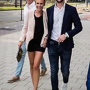 NLD/Amsterdam/20160830 - Nieuw TAG Hauer horloge, Kimberly Klaver en partner Bas Schothorst