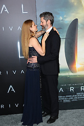 "Amy Adams and Darren Le Gallo at the premiere of ""Arrival"".<br /> (Los Angeles, CA)"