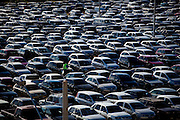 Sete Lagoas_MG, Brasil...Carros no estacionamento do estadio Arena do Jacare em Sete Lagoas, Minas Gerais...Some cars in parking garage in Arena do Jacare stadium in Sete Lagoas, Minas Gerais...Foto: NIDIN SANCHES / NITRO