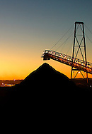 Mineral Ore stock pile..Image protected by copyright.  For usage rights  Contact EFFECTIVE WORKING IMAGE.via our contact page at :..www.photography4business.com