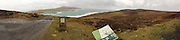 iPhone 5 panorama of Noss Island.