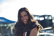July 10-13, 2014: Canadian Tire Motorsport Park. Lamborghini grid girl