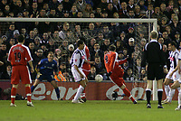Photo: Mark Stephenson.<br /> West Bromwich Albion v Middlesbrough. The FA Cup. 27/02/2007.Mark Viduka scores for Middlesbrough