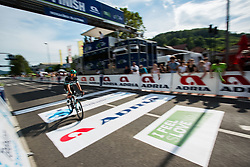 Michael Schwarzmann (GER) of Bora - Hansgrohe finishing 1st Stage of 26th Tour of Slovenia 2019 cycling race between Ljubljana and Rogaska Slatina (171 km), on June 19, 2019 in  Slovenia. Photo by Vid Ponikvar / Sportida