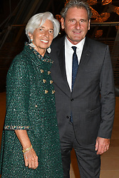 File Photo - Christine Lagarde and Xavier Giocanti attend the cocktail party for the opening of the Icones de lArt Moderne, La Collection Chtchoukine exhibition at Fondation Louis Vuitton on October 20, 2016 in Paris, France. The European Council announced Tuesday that Lagarde, the current head of the International Monetary Fund, had been chosen to succeed Mario Draghi as president of the European Central Bank,, whose eight-year term ends in October. Photo by Laurent Zabulon/ABACAPRESS.COM