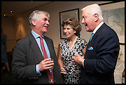 FRANCIS FULFORD; HON MRS. CAROLINE STANLEY; SIR BENJAMIN SLADE, The hon Alexandra Foley hosts drinks to introduce ' Lady Foley Grand Tour' with special guest Julian Fellowes. the Sloane Club. Lower Sloane st. London. 14 May 2014