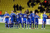 Equipe Bastia - 04.02.2015 - Monaco / Bastia - 1/2Finale Coupe de la Ligue<br /> Photo : Sebastien Nogier / Icon Sport