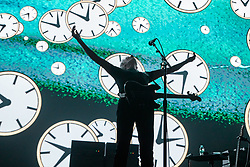 July 2, 2018 - Pink Floyd legend Roger Wates , Live At Liverpool Echo Arena, UK as part of his ' Us + Them Tour performing songs from Pink Floyd's 'The Dark Side of The Moon', 'The Wall', 'Wish You Were Here' and 'Animals', as well as songs from Waters' best-selling album 'Is This the Life We Really Want? (Credit Image: © Andy Von Pip via ZUMA Wire)