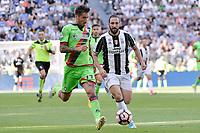 Higuain<br /> <br /> Torino 21-05-2017 Juventus Stadium Football Calcio Serie A 2016/2017 Juventus - Crotone .<br /> Foto Insidefoto