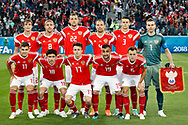 Team of Russia before the 2018 FIFA World Cup Russia, Group A football match between Russia and Egypt on June 19, 2018 at Saint Petersburg Stadium in Saint Petersburg, Russia - Photo Stanley Gontha / Pro Shots / ProSportsImages / DPPI
