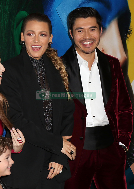 September 11, 2018 - New York City, New York, USA - 9/10/18.Blake Lively and Henry Golding at the world premiere of ''A Simple Favor'' held at The Museum of Modern Art in New York City..(NYC) (Credit Image: © Starmax/Newscom via ZUMA Press)