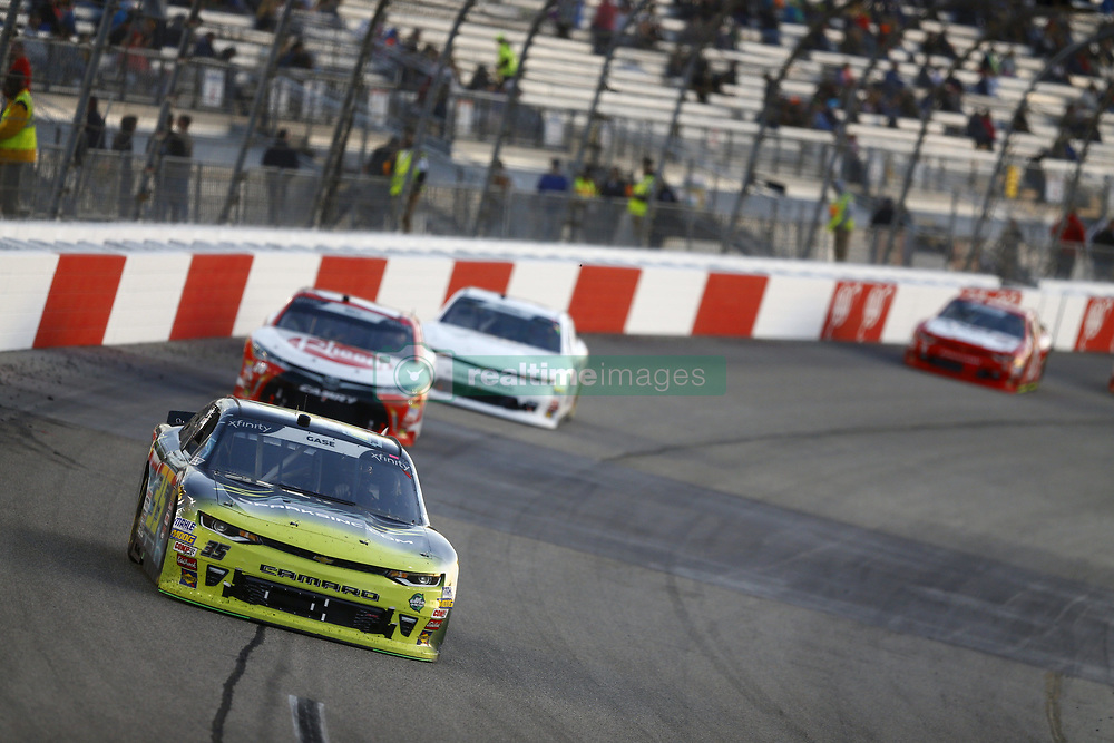 April 20, 2018 - Richmond, Virginia, United States of America - April 20, 2018 - Richmond, Virginia, USA: Joey Gase (35) brings his race car down the front stretch during the ToyotaCare 250 at Richmond Raceway in Richmond, Virginia. (Credit Image: © Chris Owens Asp Inc/ASP via ZUMA Wire)