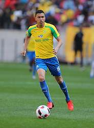 Ricardo Nascimento of Mamelodi Sundowns during the 1st leg of the MTN8 Semi Final between Chippa United and Mamelodi Sundowns held at the Nelson Mandela Bay Stadium in Port Elizabeth, South Africa on the 11th September 2016<br /><br />Photo by: Richard Huggard / Real Time Images