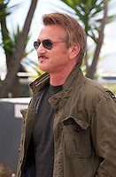 Director Sean Penn at the The Last Face film photo call at the 69th Cannes Film Festival Friday 20th May 2016, Cannes, France. Photography: Doreen Kennedy