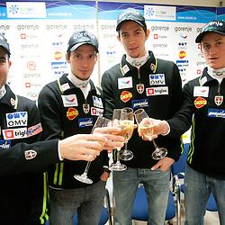 20111213: SLO, Ski Jumping - Press conference of Slovenian Nordic team